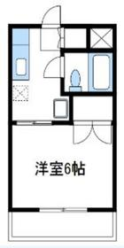チトセヤメゾン3階Fの間取り画像