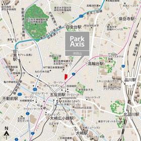 パークアクシス池田山案内図