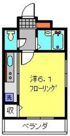 BAYSIDECITY 横浜白楽3階Fの間取り画像