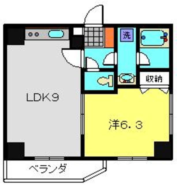 ティーリーフ横浜モデルノ間取図