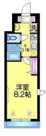 ホームズヒラヤマ3階Fの間取り画像