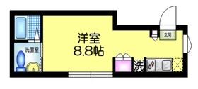 EDIT 吾妻橋2階Fの間取り画像