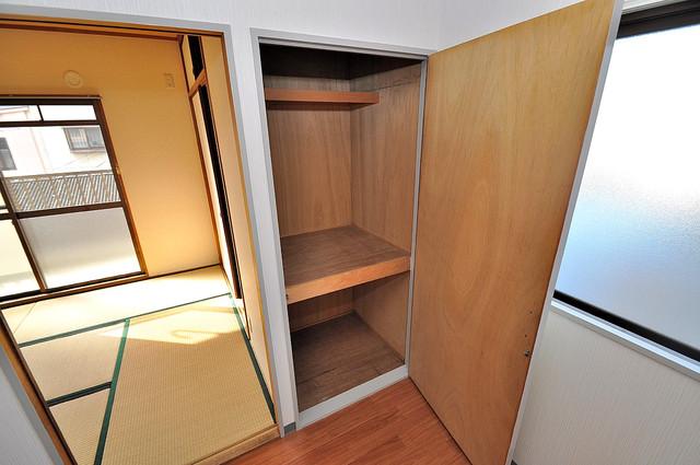 サンフロラ もちろん収納スペースも確保。いたれりつくせりのお部屋です。
