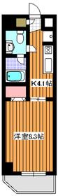 成増駅 徒歩16分2階Fの間取り画像