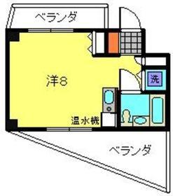 広洋フォルム東寺尾 2階Fの間取り画像