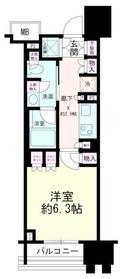 パークホームズ横濱関内2階Fの間取り画像