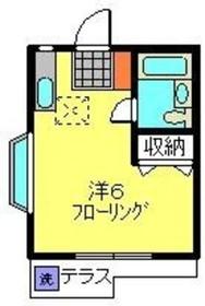 和田町駅 徒歩9分1階Fの間取り画像