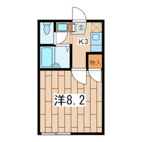 シルエーラ豊永 A1階Fの間取り画像