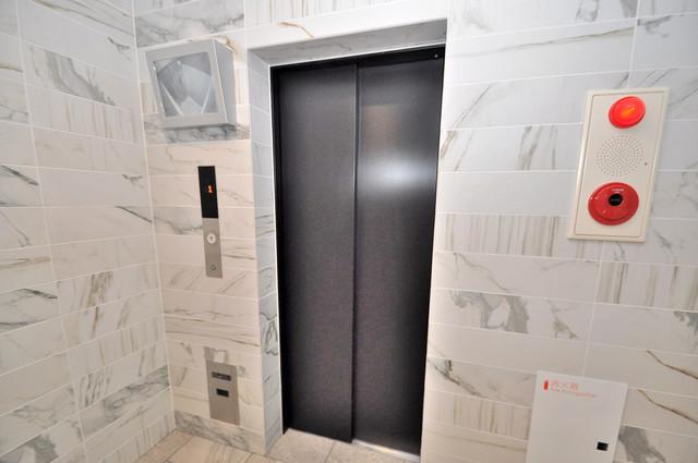 PARK HILLS 北巽 felice 嬉しい事にエレベーターがあります。重い荷物を持っていても安心