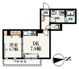 (仮称)豊玉南3丁目メゾン1階Fの間取り画像