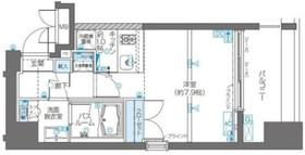 不動前駅 徒歩7分10階Fの間取り画像