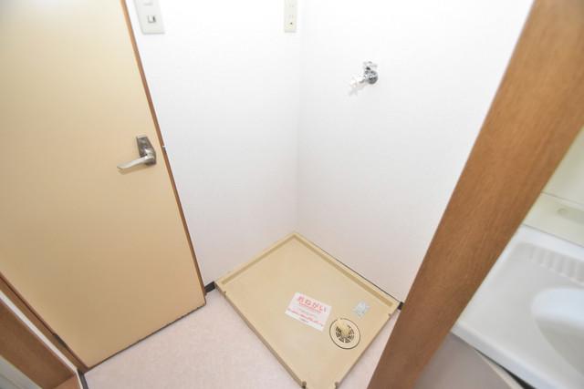 グレイス衣摺 嬉しい室内洗濯機置場は脱衣場も兼ねています。