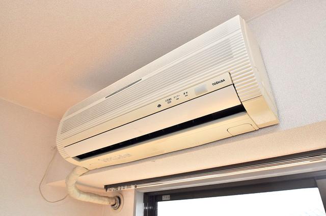 TSUJIHANAビルディング うれしいエアコン標準装備。快適な生活が送れそうです。
