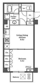 ステラメゾン白金台3階Fの間取り画像
