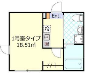 ワンネス川崎3階Fの間取り画像