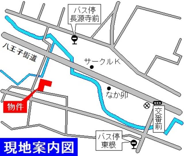 シティハイム コーポアベ案内図