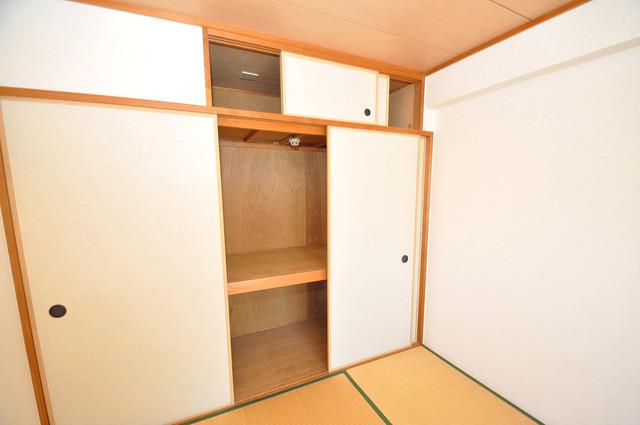 パラドール永和 収納がたくさんあると、お部屋がすっきり片付きますね。