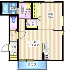 仮称 井土ヶ谷上町メゾン1階Fの間取り画像