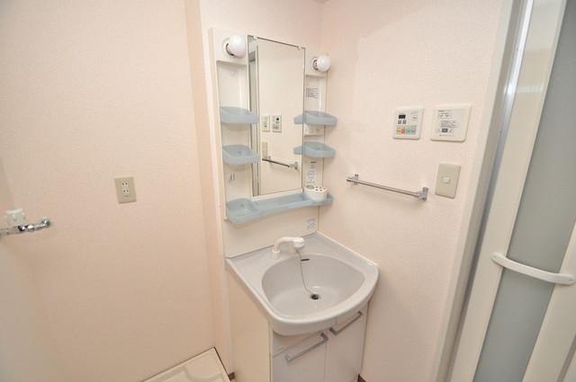 サンハイツ横沼 人気の独立洗面所はゆったりと余裕のある広さです。