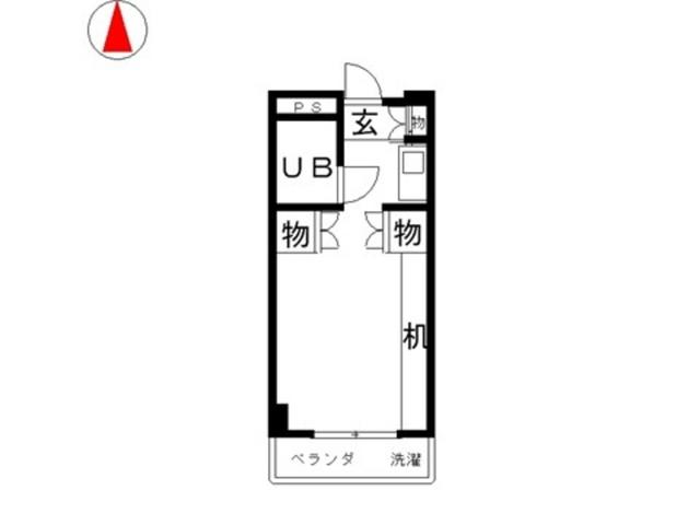 サンピア倉敷間取図