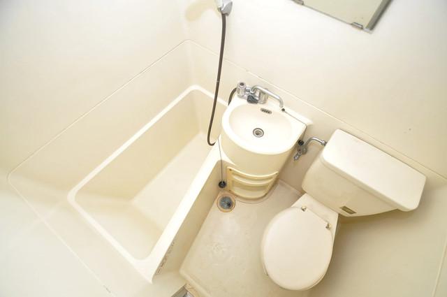 グランドハイツ大今里 シャワー一つで水回りが掃除できて楽チンです