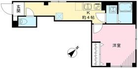 ビューノ巣鴨2階Fの間取り画像