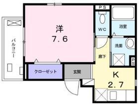 プラムマリー相模大塚3階Fの間取り画像
