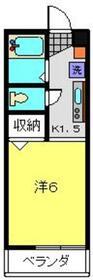 リリエンハイムⅣ2階Fの間取り画像