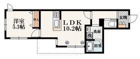 ラフィナート・K1階Fの間取り画像