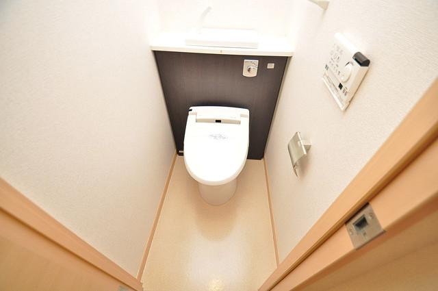 ディオーネ・ジエータ・長堂 清潔感のある爽やかなトイレ。誰もがリラックスできる空間です。