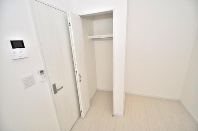 Purosupere弥栄 もちろん収納スペースも確保。おかげでお部屋の中がスッキリ。