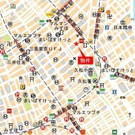 プライムスタイル東日本橋案内図