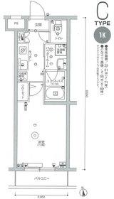 スカイコート多摩川壱番館3階Fの間取り画像