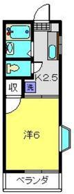 グランデュール志村2階Fの間取り画像
