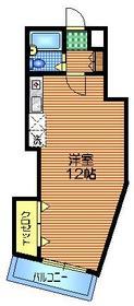 PRIRODA北沢2階Fの間取り画像