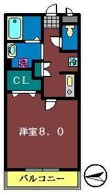 サニーコート23階Fの間取り画像