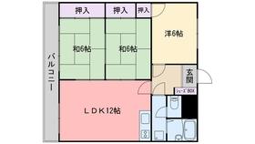 大産飯倉ビル3階Fの間取り画像