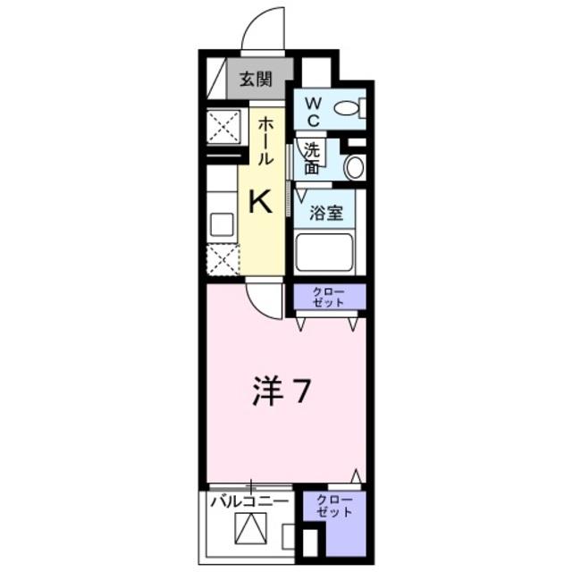 京王堀之内駅 徒歩13分間取図