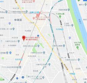 シリウス武蔵小杉 案内図
