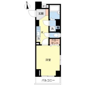 スカイコート本郷東大前壱番館11階Fの間取り画像