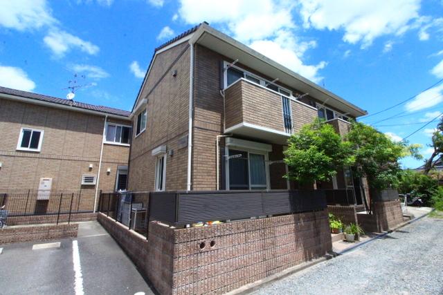 大阪府茨木市安威テラスハウスの外観