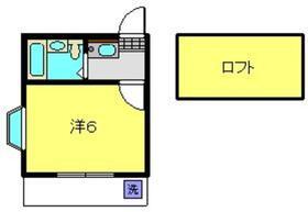 ハイム神奈川1階Fの間取り画像