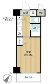 日ノ出町駅 徒歩7分4階Fの間取り画像