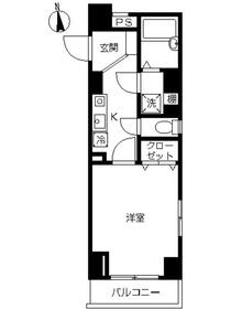 スカイコート本郷東大前壱番館1階Fの間取り画像