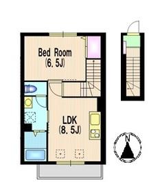 Style Residence A2階Fの間取り画像