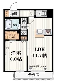 井荻駅 徒歩9分1階Fの間取り画像