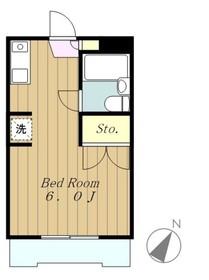 リエス相模原南台1階Fの間取り画像