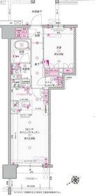 サンクレイドル向ヶ丘遊園14階Fの間取り画像