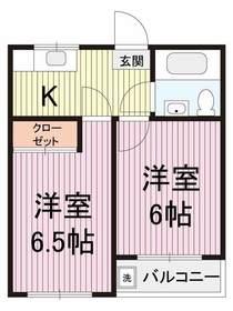 ★全室6帖以上2DKのお部屋★