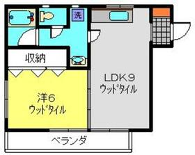 ファミールおがわ3階Fの間取り画像